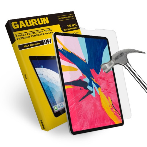 iPad Pro 12.9(2018) FULL-COVER REAL GLASS  FRONT (1EA)